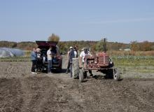 Le travail à la ferme